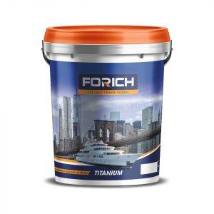 Sơn siêu bóng men sứ ngoại thất cao cấp 8in1 Forich - Forich.vn
