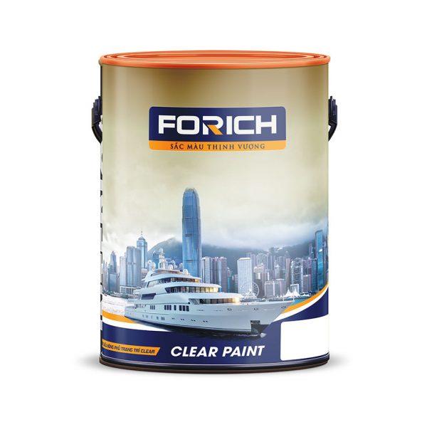 Sơn siêu bóng phủ trang trí Clear - Forich.vn