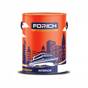 Sơn siêu mịn nội thất cao cấp Forich - Forich.vn