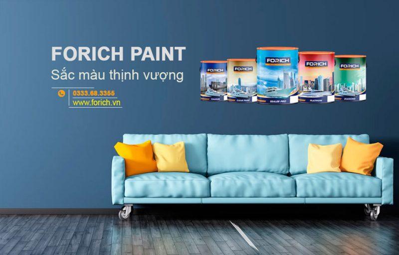 Tư vấn kinh doanh sơn nước đầy đủ từ A-Z - Forich.vn