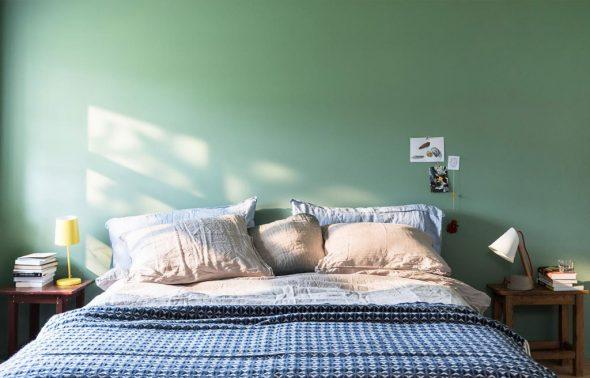Tươi mát với màu xanh lá cây cho phòng ngủ - Forich.vn